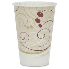 Solo Waxed Paper s - 7 fl oz - 2000 / Carton - Beige - Paper - Milk Shake, Smoothie