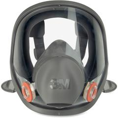 3M 6900 Full Fpiece Reusable Respirator - Lightweight, Comfortable, Reusable, Lens, Durable, Exhalation Valve - Particulate, Gases, Vapor, Debris Protection - Silicone Face Seal, Thermoplastic Elastom
