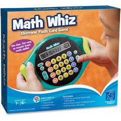 Educational Insights Math Whiz Electr Flash Card Game - Theme/Subject: Learning - Skill Learning: Sound, Addition, Subtraction, Multiplication, Division, Mathematics