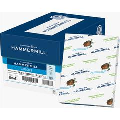 "Hammermill Colors Laser, Inkjet Print Colored Paper - Letter - 8.50"" x 11"" - 24 lb Basis Weight - Recycled - 30% Recycled Content - 500 / Ream - Blue"