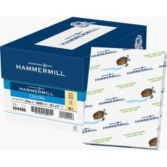 """Hammermill Colors Laser, Inkjet Print Colored Paper - Letter - 8.50"""" x 11"""" - 24 lb Basis Weight - Recycled - 30% Recycled Content - 96 Brightness - 500 / Ream - Ivory"""