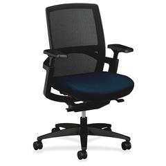 "HON Stretch-Back Work Chairs - Polyester Seat32"" Width x 26.8"" Depth x 42"" Height"