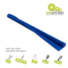 "Smart-Fab Disposable Fabric Rolls - Project, Art, Craft, Banner, Bulletin Board - 48"" x 40 ft - 1 / Roll - Dark Blue - Fabric"