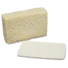 "SKILCRAFT Cellulose Sponge - 3.6"" Width x 5.8"" Length x 1.8"" Thickness - 12/Pack - Cellulose - Natural"