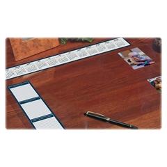 "House of Doolittle See-thru Desk Pad Organizer - 24"" Width x 19"" Depth - Vinyl - Clear"