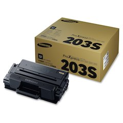 Samsung MLTD203S Original Toner Cartridge - Laser - 3000 Pages - Black - 1 Each