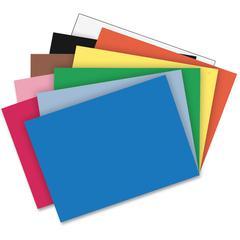 "Riverside Construction Paper - Classroom, Multipurpose - 24"" x 36"" - 50 / Pack - Assorted - Groundwood"