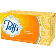 Puffs Facial Tissue - White - Soft - 180 Sheets Per Box - 24 / Carton