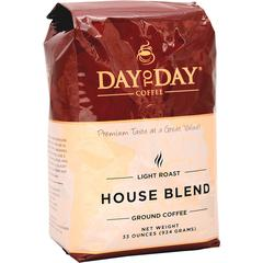 PapaNicholas Coffee Day To Day House Blend Coffee Ground - Compatible with Drip-coffee Brewer - Regular - Day To Day House Blend - 33 oz - 1 Each