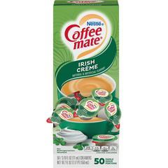 Nestlé® Coffee-mate® Coffee Creamer Irish Créme - liquid creamer singles - Irish Cream Flavor - 0.38 fl oz (11 mL) - 50/Box - 1 Serving