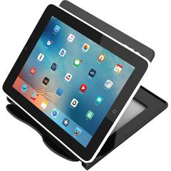"""deflecto Hands-free Tablet/Device Stand - 5.8"""" x 7.1"""" x 7"""" - 1 Each - Black"""