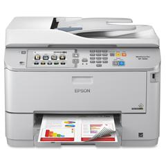 Epson WorkForce Pro WF-5690 Inkjet Multifunction Printer - Color - Plain Paper Print - Desktop - Copier/Fax/Printer/Scanner - 20 ppm Mono/20 ppm Color Print (ISO) - 20 ipm Mono/20 ipm Color Print (ISO