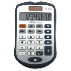 Simple Calculator - 8 Digits - Dark Gray - 1 Each