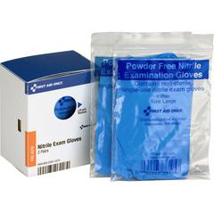 First Aid Only Exam Quality Vinyl Gloves - Vinyl - Clear - Germs-free, Latex-free, Powder-free, Disposable - 2 / Box