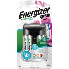 Energizer Recharge Pro AA/AAA Battery Charger - 3 Hour Charging - AC Plug - 4