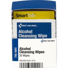 First Aid Only Alcohol Cleansing Pads - 20 x Piece(s) - 20 / Box
