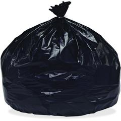 "SKILCRAFT Recycled 55-6 Gal TRC Bags - 60 gal - 38"" Width x 58"" Length - Low Density - Black - Resin - 20/Box"