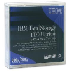 IBM LTO Ultrium-3 Data Cartridge - LTO-3 - 400 GB (Native) / 800 GB (Compressed) - 2230.97 ft Tape Length - 1 Pack