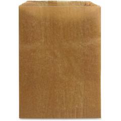 "Hospeco Receptacle Liners - 8.25"" Width x 12"" Length x 5.75"" Depth - Kraft Paper - 500/Carton - Sanitary Napkin"