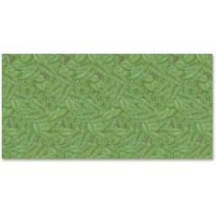 "Fadeless Tropical Foliage Design Bulletin Board Paper - 48"" x 50 ft - 1 Roll - Green"