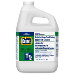 Comet Disinfecting Bthrm Cleaner - Liquid - 1 gal (128 fl oz) - 1 Each - White