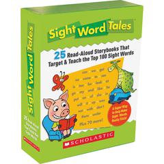 Scholastic Res. Gr K-2 Sight Word Tales Box Set Education Printed Book - English - Book