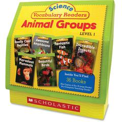 Scholastic Res. Vocabulary Readers Animal Groups Education Printed Book for Science by Liza Charlesworth - English - Book