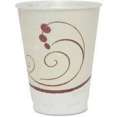 Solo Cup Thin-wall Foam Cups - 10 fl oz - 300 / Carton - White - Foam - Hot Drink, Cold Drink, Breakroom