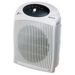 Holmes HFH442-NUM Wall Mountable Heater Fan - Electric - 600 W to 1500 W - Wall Mount, Desk - White