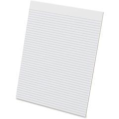 """Ampad Evidence Glue - Top Ruled Pads - Letter - 50 Sheets - Glue - Unruled - 15 lb Basis Weight - 8 1/2"""" x 11"""" - 11"""" x 8.5""""2.1"""" - White Paper - Sturdy Back, Chipboard Backing, Easy Tear, Smooth Edge,"""
