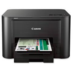 Canon MAXIFY iB4020 Inkjet Printer - Color - 600 x 1200 dpi Print - Plain Paper Print - Desktop - 23 ipm Mono Print / 15 ipm Color Print (ISO) - Photo, Letter, Legal, Envelope No. 10, Custom Size - 50