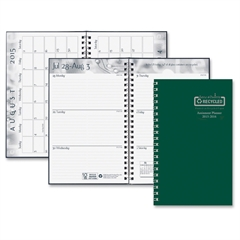 """House of Doolittle Ready-To-Go Academic Planner - Academic - Julian - Weekly, Monthly, Daily - 1.1 Year - August 2015 till August 2016 - 1 Week Double Page Layout, 1 Month Double Page Layout - 5"""" x 8"""""""