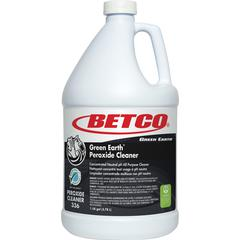 Green Earth Peroxide All-Purpose Cleaner - 1 gal (128 fl oz) - Citrus ScentBottle - 4 / Carton - Clear