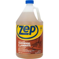 Zep Commercial Prof. Strength Hardwood Floor Cleaner - Liquid - 1 gal (128 fl oz) - Fresh ScentBottle - 1 Each - Brown