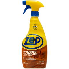 Zep Commercial Prof. Strength Hardwood Floor Cleaner - Spray - 0.25 gal (32 fl oz) - Fresh ScentBottle - 1 Each - Blue