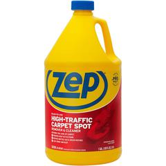 Zep Commercial High Traffic Carpet Cleaner - Liquid - 1 gal (128 fl oz) - 1 Each - Red