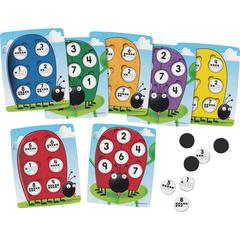 Learning Resources 10 on the Spot Ten Frame Game - Matching