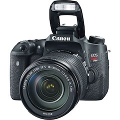"Canon EOS Rebel T6s 24.2 Megapixel Digital SLR Camera with Lens - 18 mm - 135 mm - 3"" Touchscreen LCD - 16:9 - 7.5x Optical Zoom - E-TTL II - 6000 x 4000 Image - 1920 x 1080 Video - HDMI - HD Movie Mo"