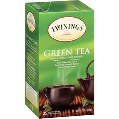 Twinings Green Tea - Green Tea - 25 Cup - 25 / Box