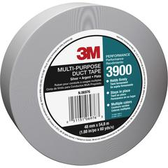 "3M Multi-purpose Utility Grade Duct Tape - 1.88"" Width x 60 yd Length - 3"" Core - Polyethylene Coated Cloth Backing - Easy Tear, Reinforced, Laminated - 24 / Carton - Silver"