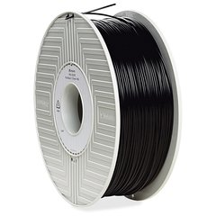 Verbatim PLA 3D Filament 1.75mm 1kg Reel - Black - Black