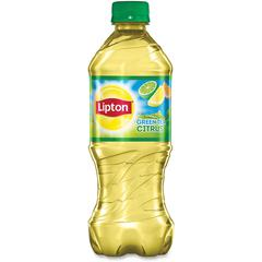 Lipton Pepsico Citrus Green Tea Bottle - Green Tea - Citrus - 24 Bottle - 24 / Carton