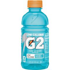 Gatorade Low-Calorie Gatorade Sports Drink - Glacier Freeze Flavor - 12 fl oz (355 mL) - Bottle - 24 / Carton