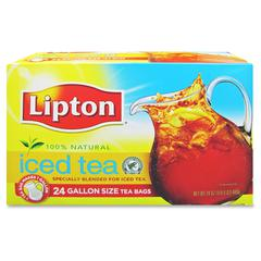 Lipton /Unilever Unsweetened Smooth Blend Tea - Black Tea - 24 Teabag - 24 / Box