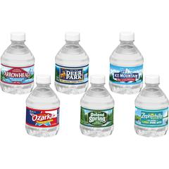 Deer Park Natural Spring Water - 8 fl oz (237 mL) - Bottle - 48 / Carton