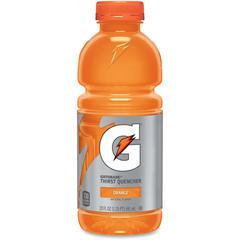 Gatorade Thirst Quencher Bottled Drink - Orange Flavor - 20 fl oz (591 mL) - 24 / Carton