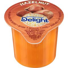 International Delight Int'l Delight Hazelnut Coffee Creamer - Hazelnut Flavor - 0.50 fl oz (15 mL) - 192/Carton - 1 Serving