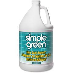 Simple Green Lime Scale Remover - Liquid - 1 gal (128 fl oz) - Wintergreen Scent - 6 / Carton