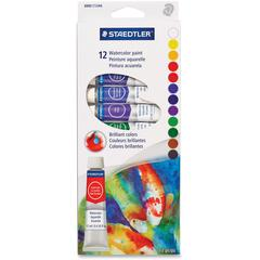 Staedtler Watercolor Paint - 0.41 fl oz - 12 / Pack - Assorted