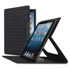 """Solo Blade Carrying Case for iPad mini, iPad mini 2, iPad mini 3 - Black - Scratch Resistant, Residue Resistant - Polyester - 8.3"""" Height x 5.3"""" Width x 0.3"""" Depth"""